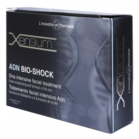 Ampollas de tratamiento facial intensivo ecológicas ADN Shock Xensium 4 ud.