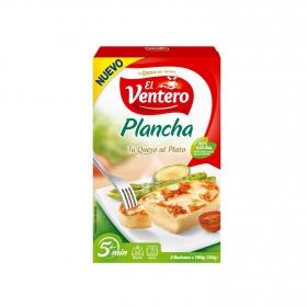 Queso especial plancha El Ventero pack de 2 unidades de 100 g.