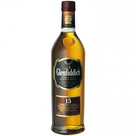 Whisky Glenfiddich escocés 15 años 70 cl.