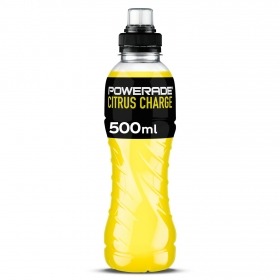 Bebida Isotónica Citrus Charge Powerade botella 50 cl.