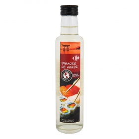 Vinagre de arroz Carrefour 25 cl.