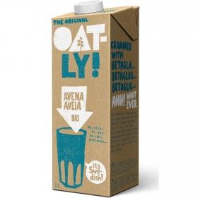 Bebida de avena ecológica Oatly brik 1 l.