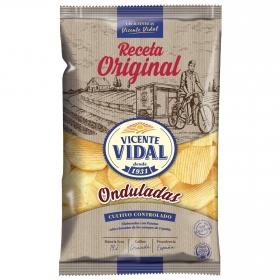 Patatas fritas rústicas Vidal 150 g.