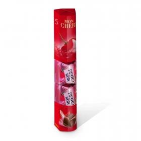 Bombones de chocolate negro rellenos de licor de cereza Mon Chéri 5 ud.