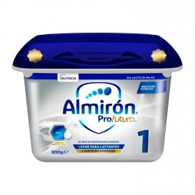 Leche para lactantes desde el primer día en polvo Almirón Profutura 1 bote de 800 g.