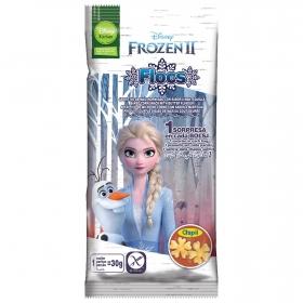 Aperitivo de maíz sabor mantequilla Frozen Aspil sin gluten 30 g.