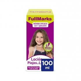 Tratamiento contra piojos y liendres Full Marks 100 ml.