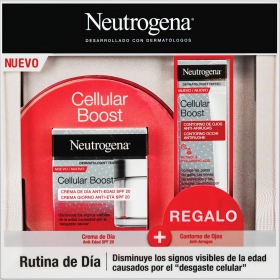 Set de día Cellular Boost Neutrogena (crema de día antiedad 50 ml + Contorno de ojos antiarrugas 15 ml) 1ud.