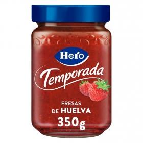 Mermelada de fresa de temporada Hero 350 g.