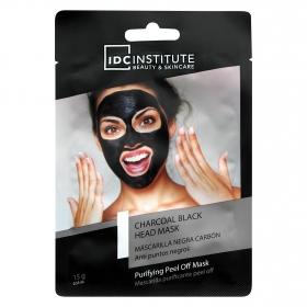 Mascarilla negra de carbón anti puntos negros IDC Institute 1 ud.