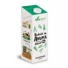 Bebida de avena con calcio ecológica Soria Natural brik 1 l.