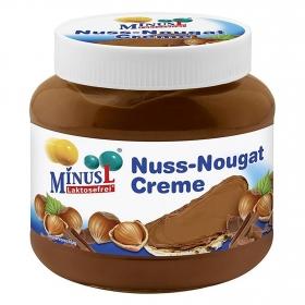 Crema de cacao con avellanas y turrón MinusL sin lactosa 400 g.