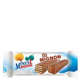 Barrita de chocolate y galleta Minus L 2 unidades de 30 g.