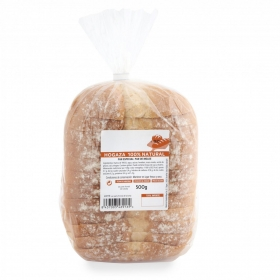 Hogaza de pan natural 100% 500 g