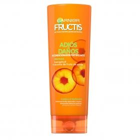 Acondicionador fortificante repara adios daños con aceite del fruto de amia para cabello dañado Garnier Fructis 300 ml.