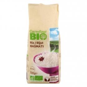 Arroz basmati ecológico Carrefour Bio 500 g.