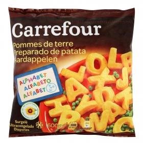 Letras de patata Carrefour 600 g.