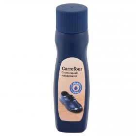 Crema líquida color azul marino Carrefour 50 ml.