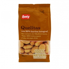 Galletas integrales Quely 200 g.