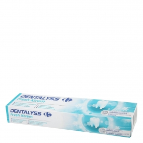 Dentífrico Fresh xtrem Dentalyss 75 ml.
