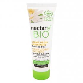 Crema facial hidratante suavidad y brillo ecológico Nectar of Bio Les Cosmétiques 50 ml.