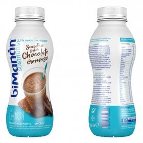 Batido sustitutivo sabor chocolate cremoso Bimanán 330 ml.