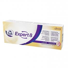 Dentífrico Espert 10 en 1 Dentalyss pack de 2 unidades de 75 ml.