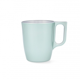 Mug Vidrio Opal LUMINARC Flashy Breakfast 25 cl - Verde
