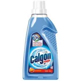 Antical para lavadoras 2 en 1 en gel Calgon 750 ml.