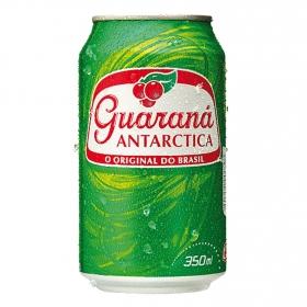 Refresco Antarctica con gas sabor guaraná lata 33 cl.