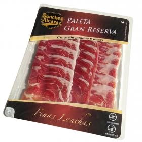 Paleta curada en finas lonchas Gran Reserva Sánchez Alcaraz sin gluten y sin lactosa 120 g