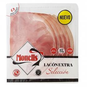 Lacón extra selección en lonchas Monells 140 g.