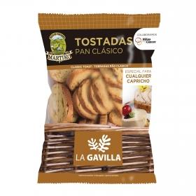 Pan tostado clásico La Gavilla Martiko 100 g.