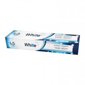 Dentrífico blanqueador Dentalyss White Carrefour 75 ml.