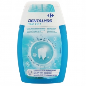 Dentífrico Fresh Dentalyss Carrefour 100 ml.