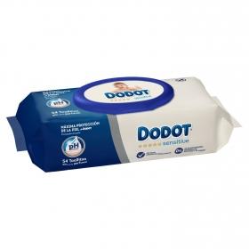Toallitas para bebé Dodot Sensitive 54 ud.