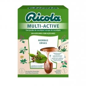 Caramelo de hierbas sin azúcar Ricola Multi-Active 51 g.