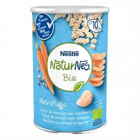 Snack de cereales con zanahoria ecológico Nutripuffs Naturnes Bio Nestlé 35 g.
