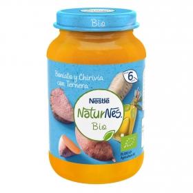 Tarrito de boniato y chirivia con ternera desde 6 meses ecológico Naturnes Nestlé 190 g.