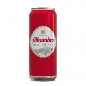 Cerveza Alhambra tradicional lata 50 cl.