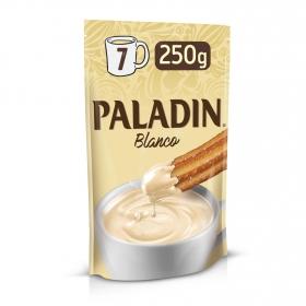 Chocolate a la taza blanco Paladín 250 g.