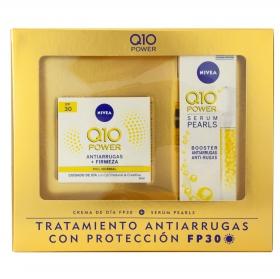 Estuche Power Nivea Q10 (Crema de día antiarrugas FP 30 50 ml + Serum 30 ml) 1 ud.