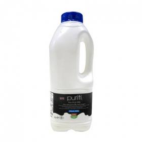 Leche entera fresca Puriti botella 1 l.