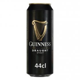 Cerveza Guinness Draught irlandesa negra lata 44 cl.