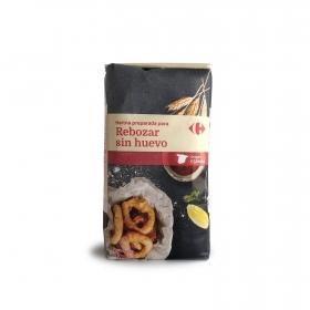 Harina para rebozar sin huevo Carrefour 1 Kg.