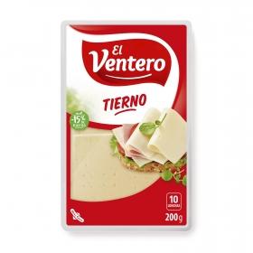 Queso tierno en lonchas El Ventero 200 g.