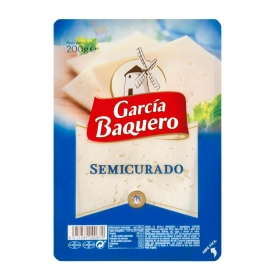 Quesi semicurado mezcla García Baquero 200 g.
