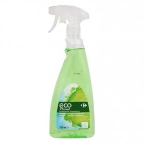 Limpiacristales ecológico Carrefour Ecoplanet 750 ml.
