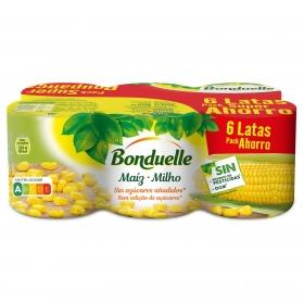 Maiz Bonduelle pack de 6x140 g.