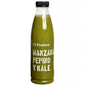 Zumo de kale, pepino, manzana El Frutero botella 75 cl.